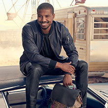 0c67e77f Michael B. Jordan for Coach. Our first global men's face makes his debut in  the Coach Spring 2019 campaign, wearing our iconic Moto jacket and new  Rivington ...